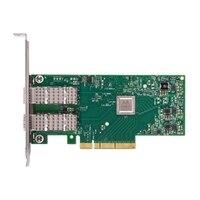 Dell Διπλός θυρών Mellanox ConnectX-4,  EDR, VPI QSFP28 δικτύου Adapter - πλήρους ύψους