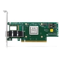 Dell Mellanox ConnectX-6 1-θυρών HDR100 QSFP56 Infiniband Προσαρμογέας, PCIe χαμηλού προφίλ, Για εγκατάσταση από τον πελάτη