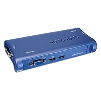 4-Port USB KVM Switch Kit