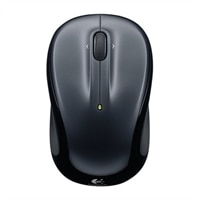Logitech M325 - Mouse - right and left-handed - optical - wireless - 2.4 GHz - USB wireless receiver - black