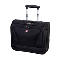 Swiss Gear Business Cases Slim - Laptop carrying case - 15.6-inch - black