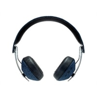 House of Marley Rise BT - Headphones with mic - on-ear - Bluetooth - wireless - denim