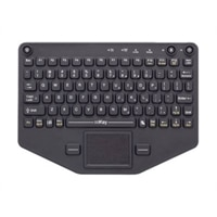 iKey PRO-KB-116 - Keyboard - with touchpad - backlit - rack-mountable - Bluetooth