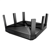 TP-Link Archer C4000 - Wireless router - 4-port switch - GigE - 802.11a/b/g/n/ac - Tri-Band