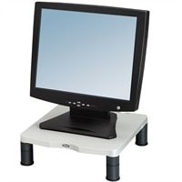 """Fellowes Standard Monitor Riser - Stand for Monitor - graphite, platinum - screen size: 21"""""""