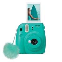 Fujifilm Instax Mini 9 - Instant camera - lens: 60 mm (surf blue)