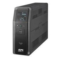APC Back-UPS Pro BN 1350VA - UPS - AC 120 V - 810 Watt - 1350 VA - USB - output connectors: 10 - Canada - black