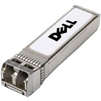 Dell Networking, Transceiver, SFP+, 10GbE, ZR, 1550nm, Single Mode Fiber, LC