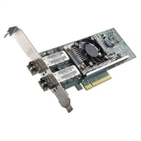 Dell QLogic 57810 Dual Port 10 Gb DA/SFP+ Coverged Network Adapter - Low-Profile Device