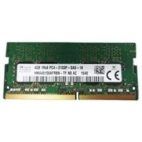 Dell Memory Upgrade - 4 GB - 1Rx8 DDR4 SODIMM 2133MHz