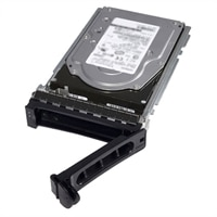 Dell 600GB 15,000 RPM SAS 12Gbps 2.5in Hot-plug Hard Drive, 3.5in Hybrid Carrier, CusKit