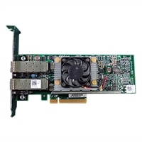 Dell QLogic 57810 Dual Port 10Gb Direct Attach/SFP+ Network Adapter, Full Height, CusKit