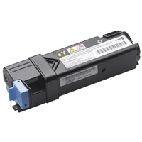 Dell  213Xcn/1320cn 1,000pg Std Capcity Yellow Toner Cartridge Standard Delivery