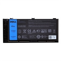 Dell Primary Battery - Laptop battery - 1 x Lithium Ion 6-cell 65 Wh - for Precision Mobile Workstation M4800, M6800