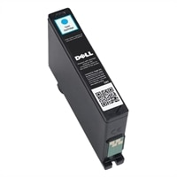 Single Use High Capacity Cyan Ink Cartridge (Series 32) for Dell V525w/ V725w All-in-One Wireless Inkjet Printer