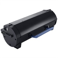 Dell 25,000 Page Black Toner Cartridge for Dell B5460dn Laser Printers - Use and Return