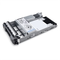 Dell 800GB SSD SAS Mix Use 12Gbps 512e 2.5in Hot-plug Drive 3.5in Hybrid Carrier