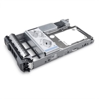 Dell 1.6TB SSD SAS Mix Use 12Gbps 512e 2.5in Hot-plug Drive 3.5in Hybrid Carrier