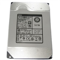 Dell 10TB 7.2K RPM SAS 12Gbps 512e 3.5in Internal Bay Hard Drive