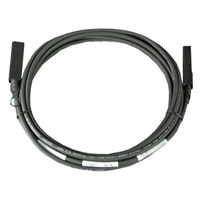 Dell Networking, Cable, SFP+ to SFP+ 10GbE, Twinax Direct Attach Cable, for Cisco FEX B22, 5 meter