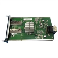 Dell SFP+ 10GbE Module for N3000/S3100 Series, 2x SFP+ Ports (optics or Direct attach cable Required)