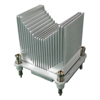 Heat Sink for 2nd CPU, R440, APAC