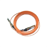 Dell Multimode LC/LC QSFP+ Fiber Optic Cable - 10m