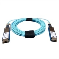 Dell Networking Cable, QSFP28 to QSFP28, 100GbE, Active Optical Cable (Optics Included), 10 meter