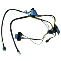 "PERC Controller SAS Cable for 4x3.5"" Cabled Chassis, PowerEdge R240"