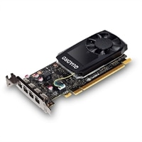 Quadro P1000, 4GB, 4 mDP, (Precision 3420)(Customer KIT)