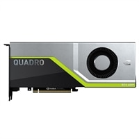 NVIDIA Quadro RTX 6000 24 GB, 260W, Dual Slot, PCIe x16 Passive Cooled, Full Height GPU, Customer Install