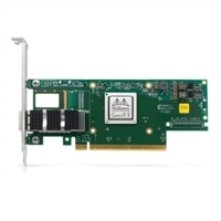 Dell Mellanox ConnectX-6 Single Port HDR100 QSFP56 Infiniband Adapter, PCIe Full Height, Customer Install