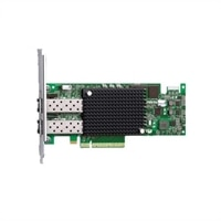 Dell Controller Card IO, iSCSI PCI-E, Dual Port, Copper, Low Profile - 10GB