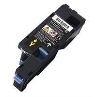 Dell - Yellow - original - toner cartridge - for Color Printer C1760; Multifunction Color Printer C1765