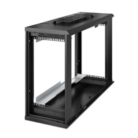 NetShelter WX 6U Low-Profile Wall Mount Enclosure 230V Fans