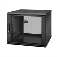 APC NetShelter WX 9U Single Hinged Wall-mount Enclosure 600mm Deep