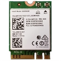 Intel Dual Band Wireless AC 8265 2x2 (802.11ac) + BT 4.2