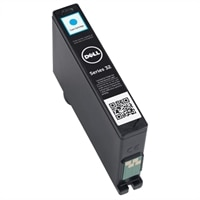 Dell Series 32 Single Use High Capacity Cyan Cartridge Color Ink 331-7381 - High Yield Ink Cartridge