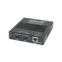 Transition Networks Stand-Alone Power over Ethernet PSE - fiber media converter - 10Mb LAN, 100Mb LAN, GigE