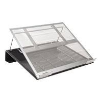 MS - Ergnomics - Rolodex® Mesh Workspace Laptop Stand