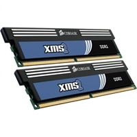 4 GB 800 MHz 240-pin XMS Dual Channel DIMM DDR2 Memory Module Kit