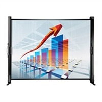 Epson ES1000 Ultra Portable Tabletop Projection Screen - projection screen - 50 in (50 in)