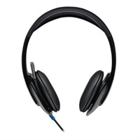 Logitech USB Headset H540 - Headset - on-ear - wired - USB
