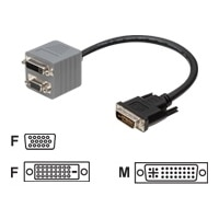 Belkin DVI-I to VGA/DVI-D Dual Link Adapter - 1 ft