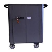 Datamation Systems SafeHarbor2 DS-SHC2-24 - Cart for 24 tablets / Laptops - steel