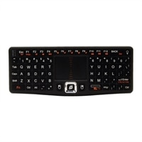 CANDYBOARD Wireless 2.4GHZ RF Mini QWERTY Keyboard and center touchpad