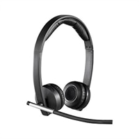 Logitech H820e Wireless Headset - Dual
