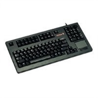 G80-11900 Compact USB Keyboard with Touchpad - Black