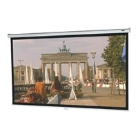 MODEL B 57.5X92 MAN PROJ-SCREEN MATTE WHT