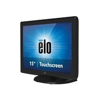 Elo 1515L IntelliTouch LCD monitor 15-inch touchscreen - dark gray